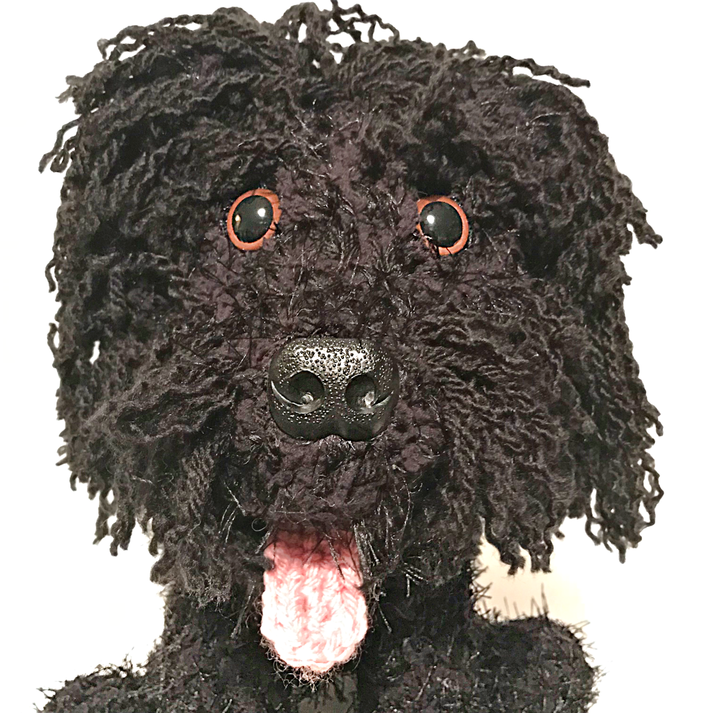 Pet Plush Creations - Pip the Black Cockapoo