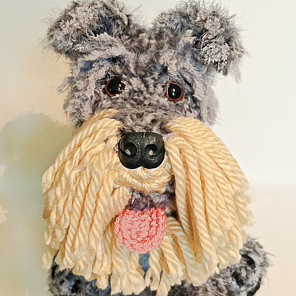 Five more Lovingly Handmade Creations - Flora the Miniature Schnauzer