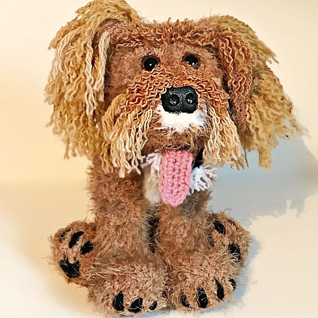 Another Plushy Trio - Monty the Cockapoo