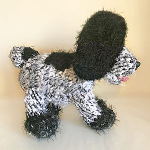 The New Seven Wonders - Black and White Roan Cocker Spaniel