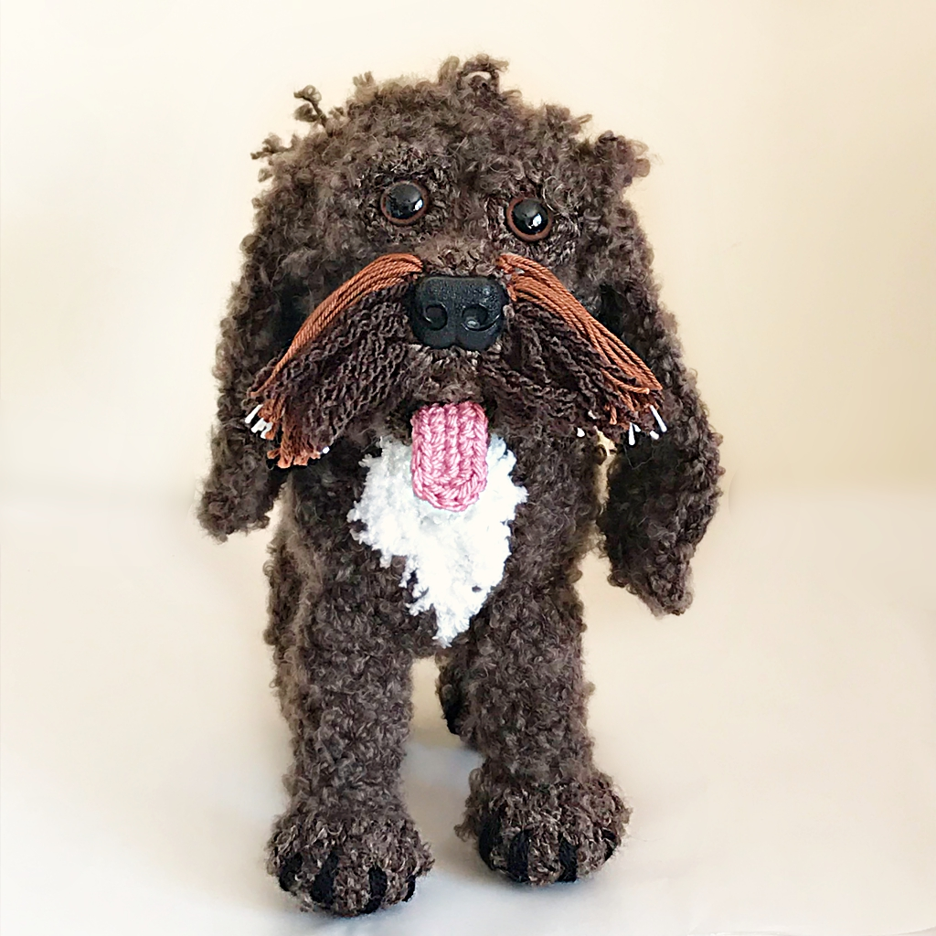 Seven New Pet Plushies - Bonnie the Cockapoo