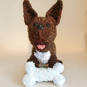 More Creations Over Easter - Dave the French Bulldog