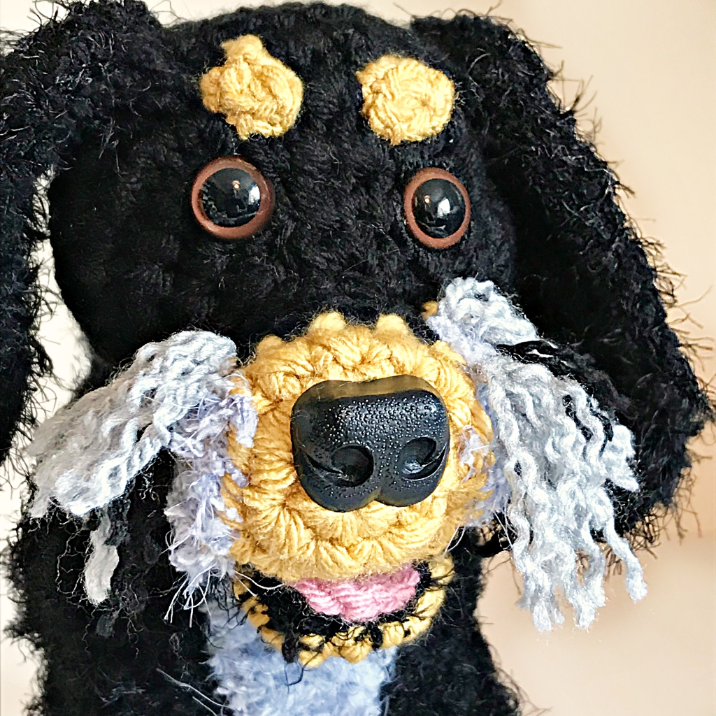 Seven New Pet Plushies - Duke the Tri Coloured Cocker Spaniel