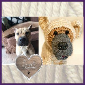 Seven New Pet Plushies - Gem the Shar Pei Cross
