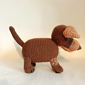 More Creations Over Easter - Luna the Dachshund