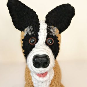 Four More Fluffy Pet Plushes - Sybil the Akita Border Collie Cross