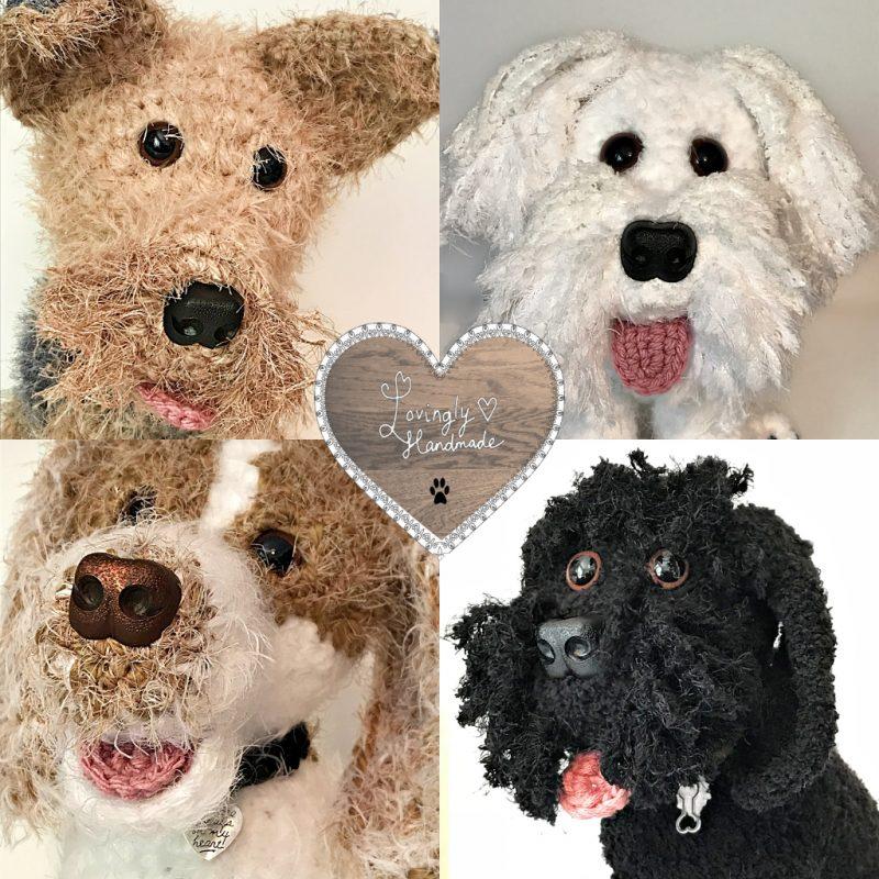 Four Fluffy Beauties