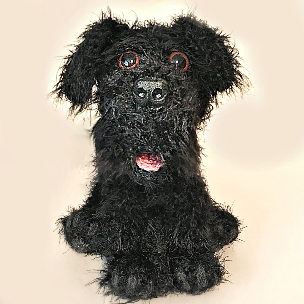 Willow the Giant Schnauzer