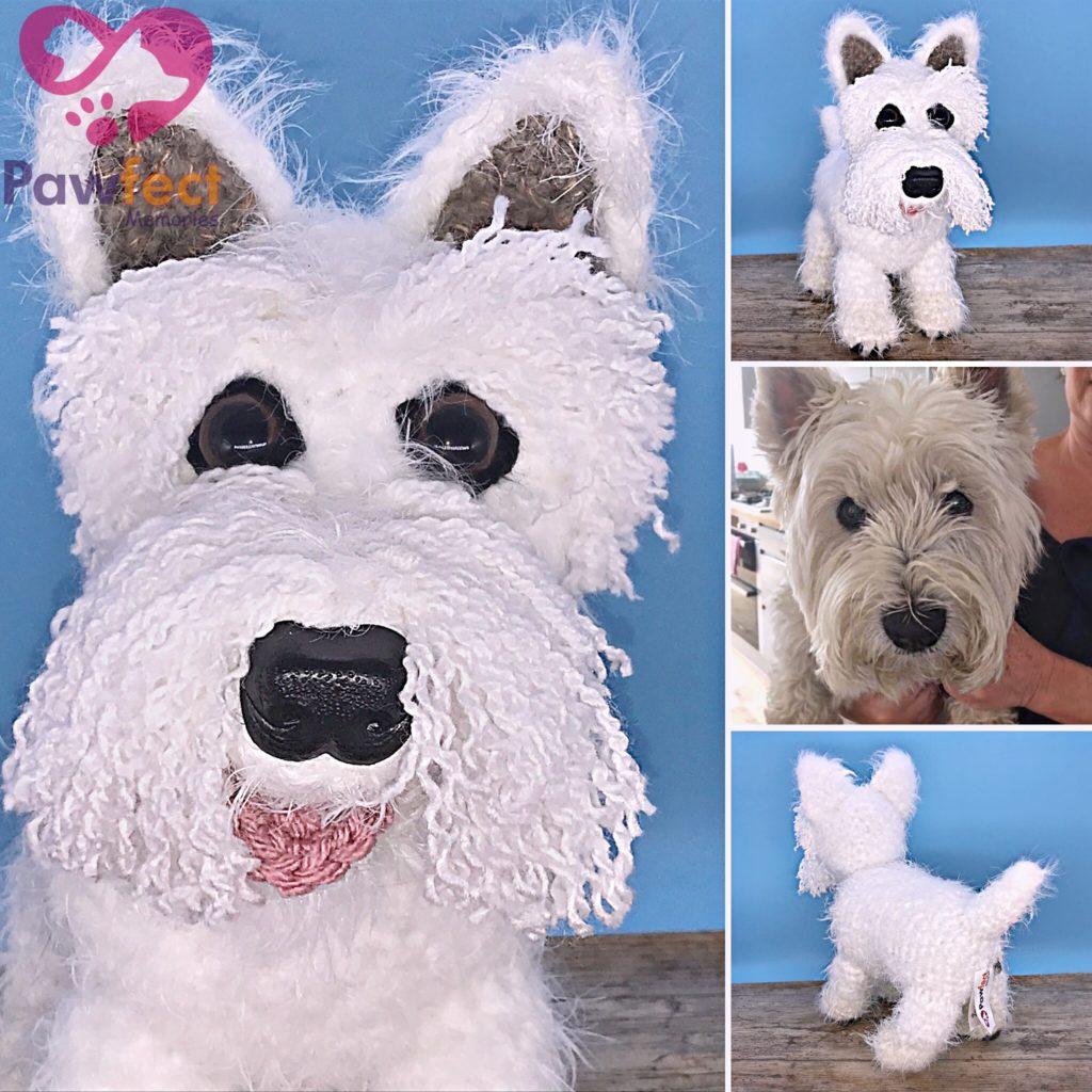 Morag the West Highland Terrier