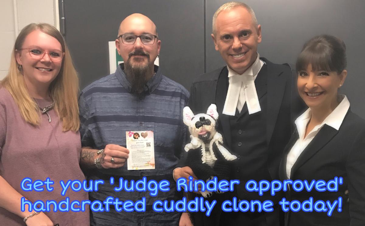 Judge Rinder Banner