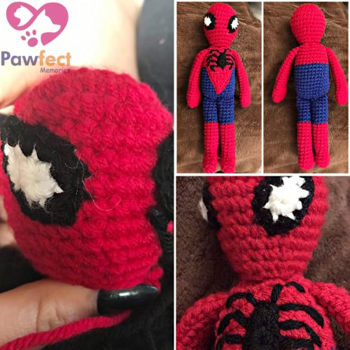 Spider Hero Doll