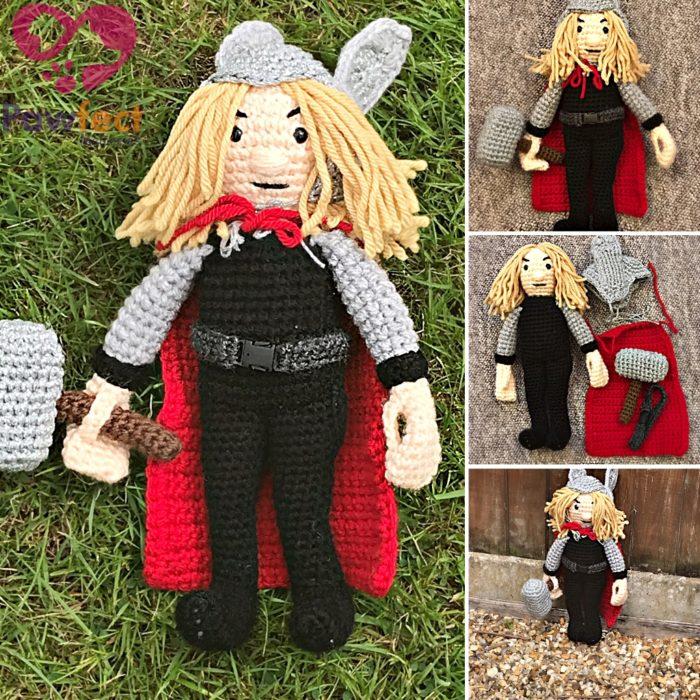 Hammer God Hero Doll