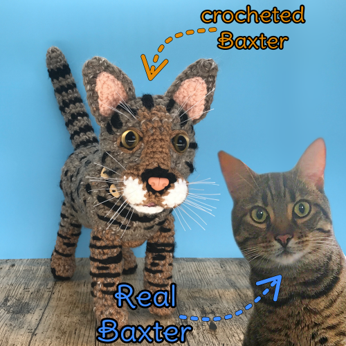 Baxter the Bengal Cat - Standard Pet Cuddly Toy