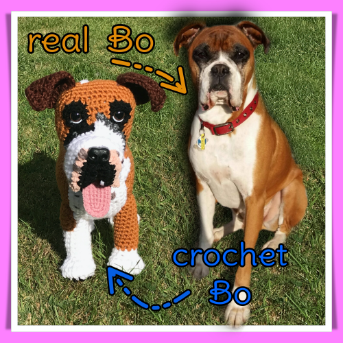 Bo the Boxer - Standard Pet Cuddly Toy