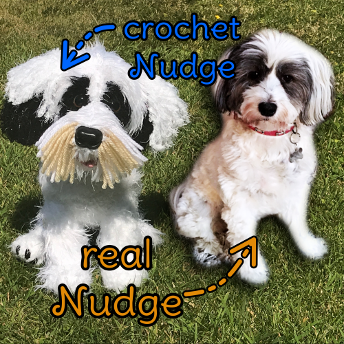 Nudge the Tibetan Terrier - Standard Pet Cuddly Toy