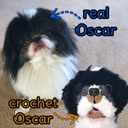 Oscar the Japanese Chin - Standard Pet Cuddly Toy