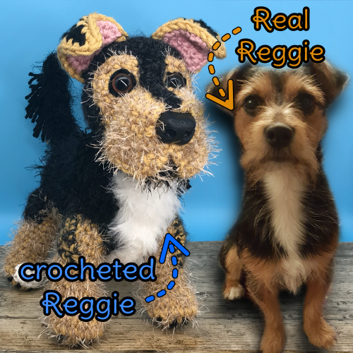 Reggie the Jack Russell - Standard Pet Cuddly Toy
