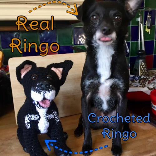 Ringo the Mongrel - Standard Pet Cuddly Toy