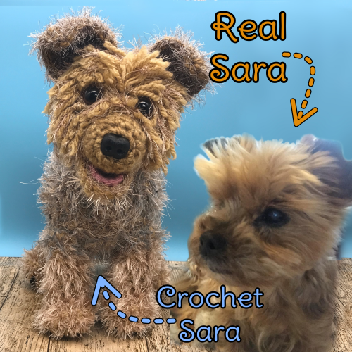 Sara the Yorkshire Terrier - Standard Pet Cuddly Toy