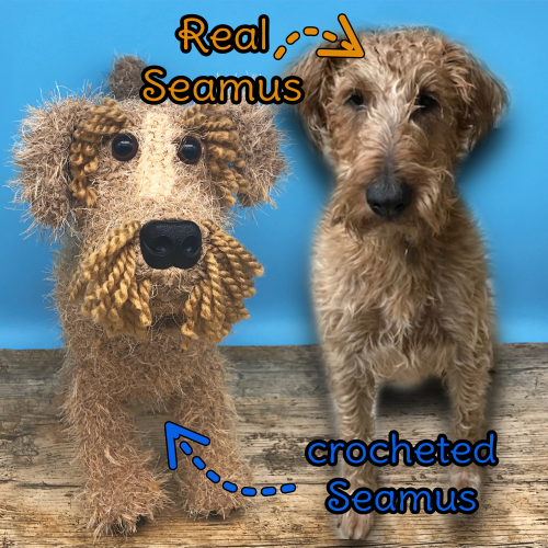 Seamus the Irish Terrier - Standard Pet Cuddly Toy